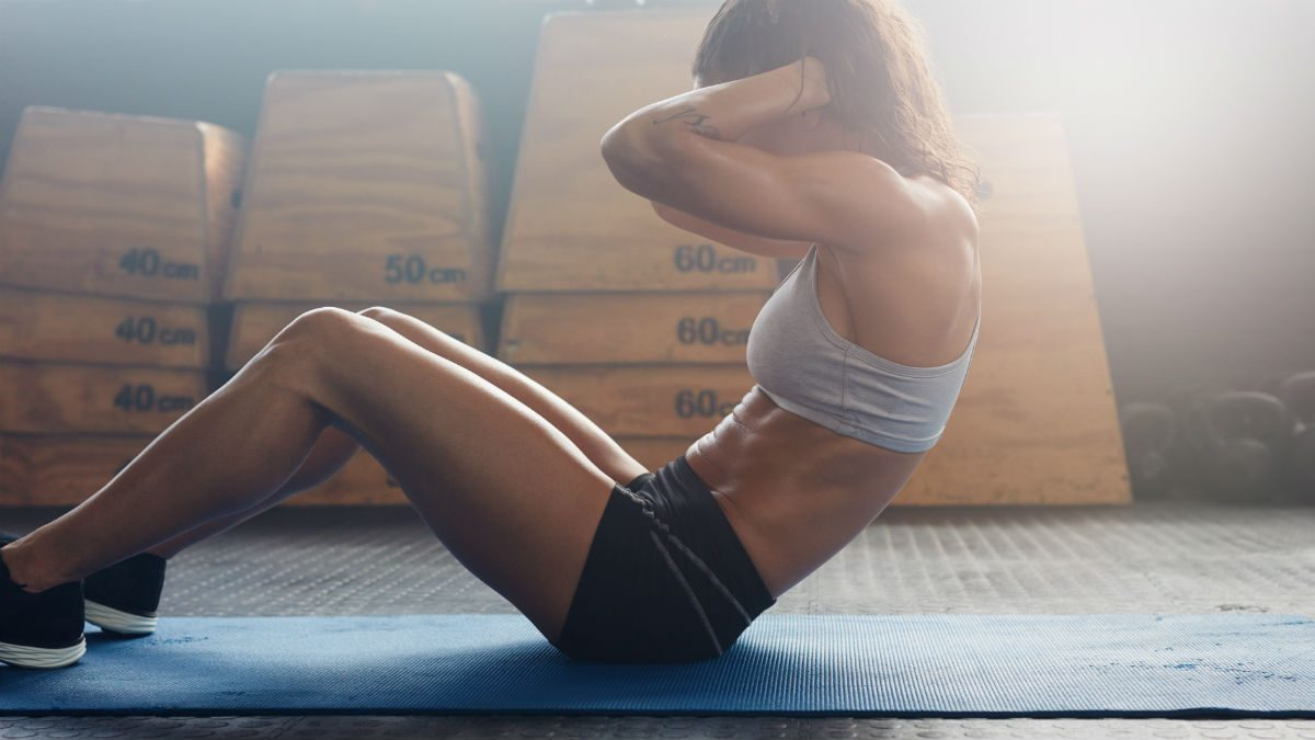 how to get abs for women crunches