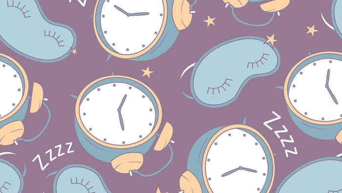 polyphasic sleep alarm clocks and masks