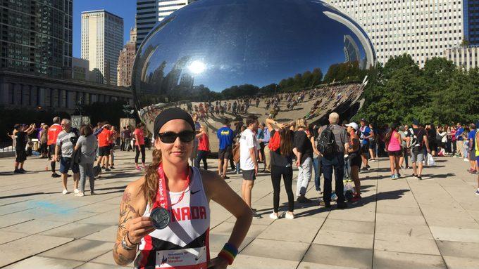 running for health Damara Nickerson