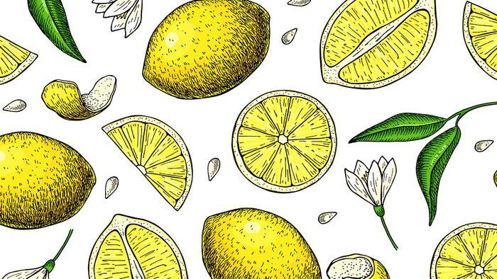 Essential oils, lemon