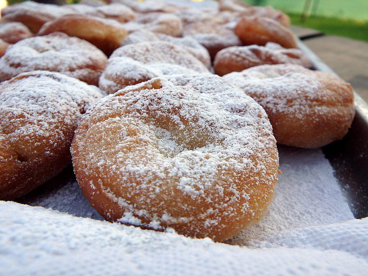 High cholesterol, powdered donuts