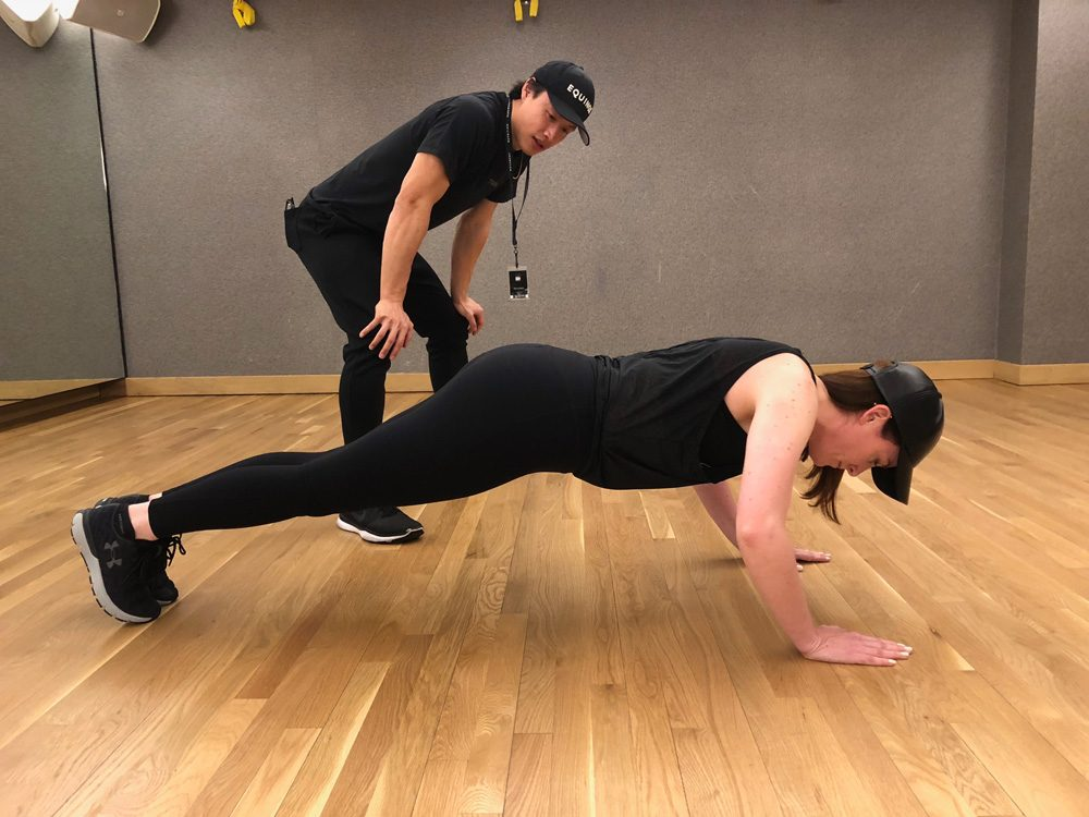 abs strength workouts pushups