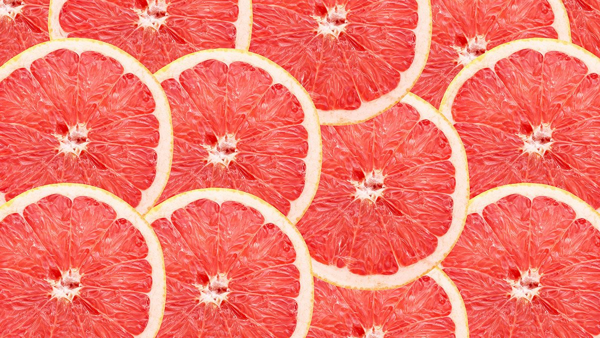 Fibre, Grapefruit