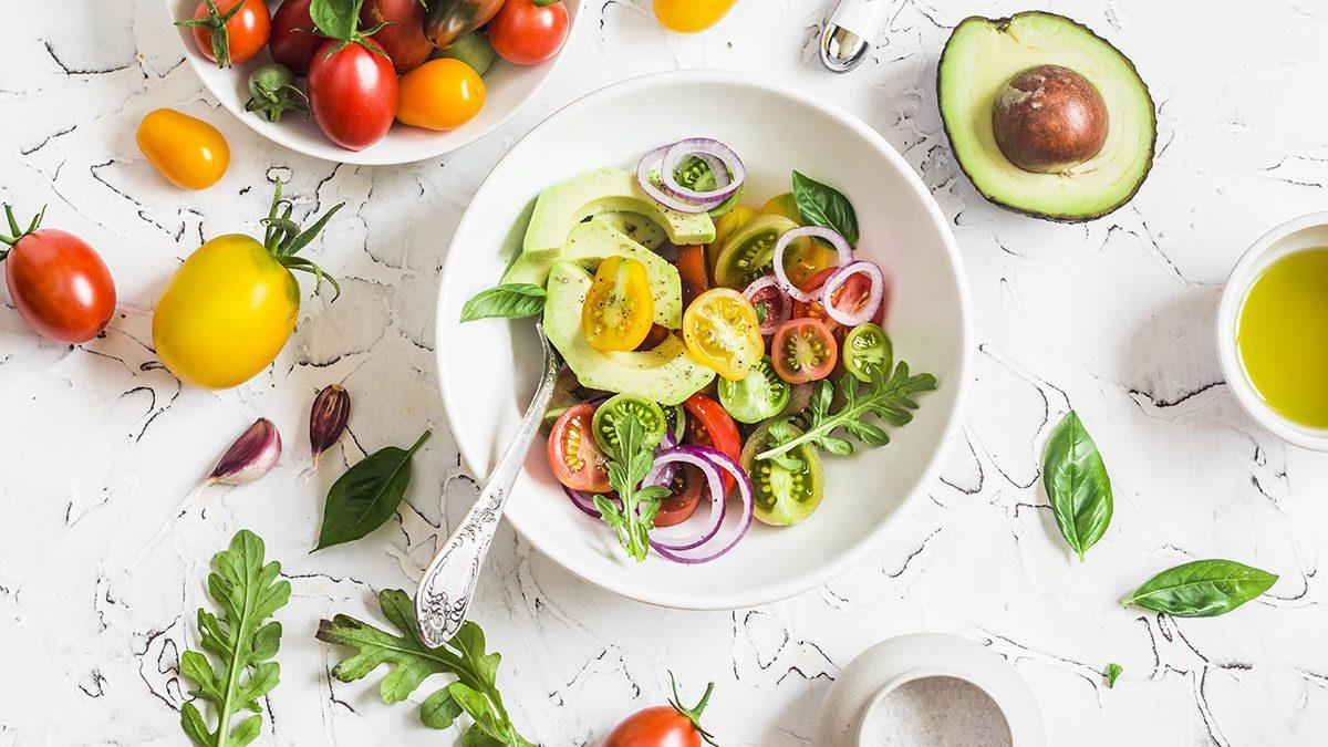Missed Period, salad