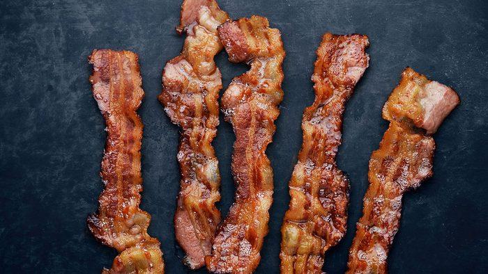 Stomach, bacon