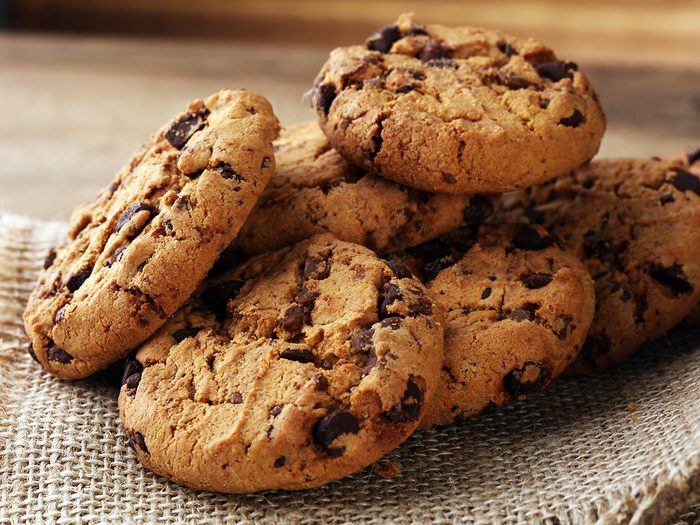 Weight gain, chocolate chip cookies