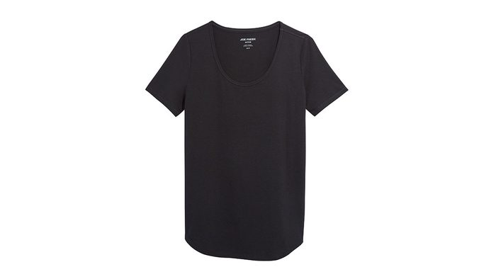 Yogalates, black shirt