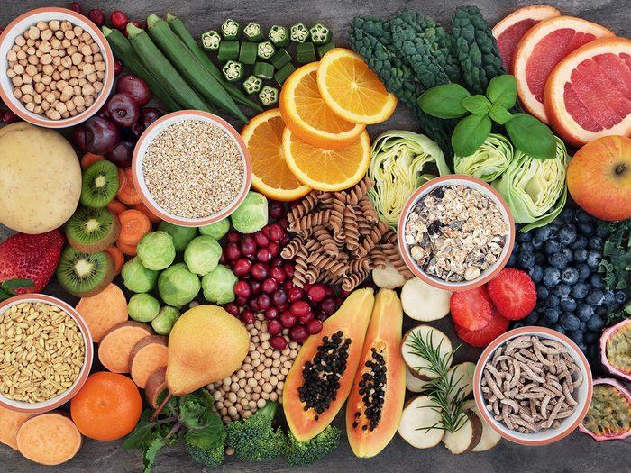 Healthy foods, high fibre foods