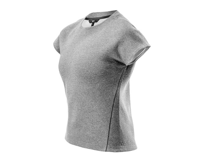 Workout gear, grey RYU t-shirt