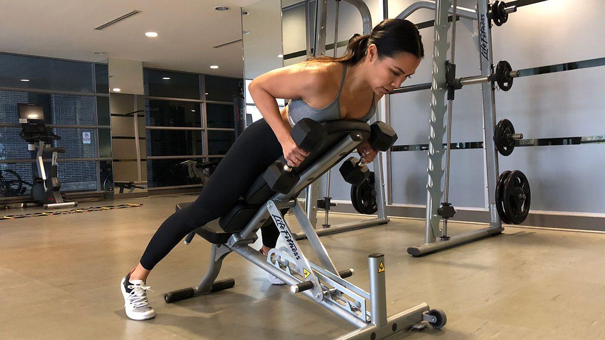 Arms Workout, Jennifer Lau