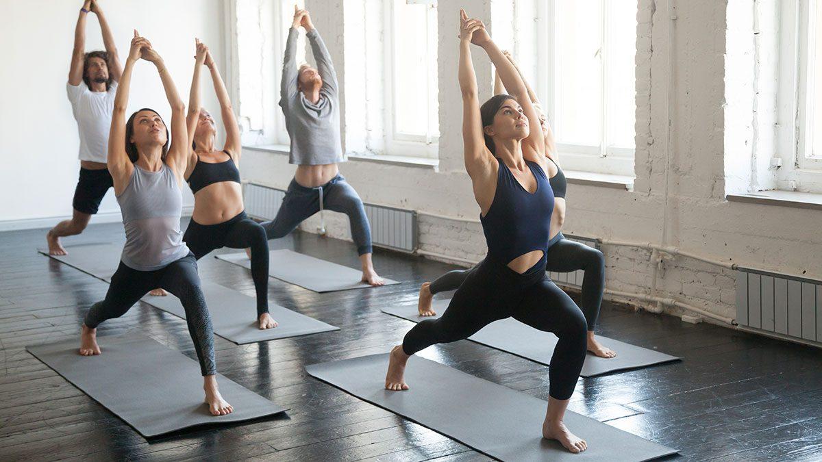 Best Fitness Studios, yoga class