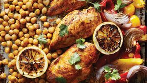 A Saucy, One-Pan Spanish Chicken Bake for a Rainy Day