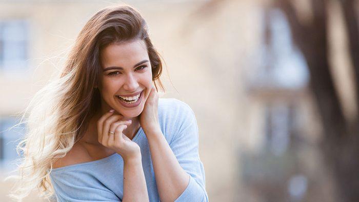 Heart Disease, woman smiling