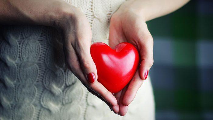 Heart Disease, heart in hand