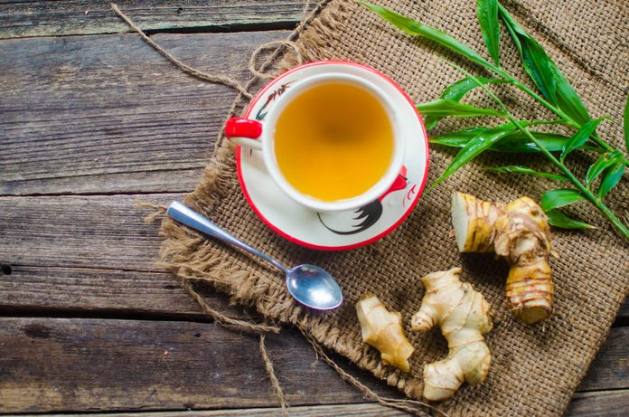 ginger tea for arthritis pain relief