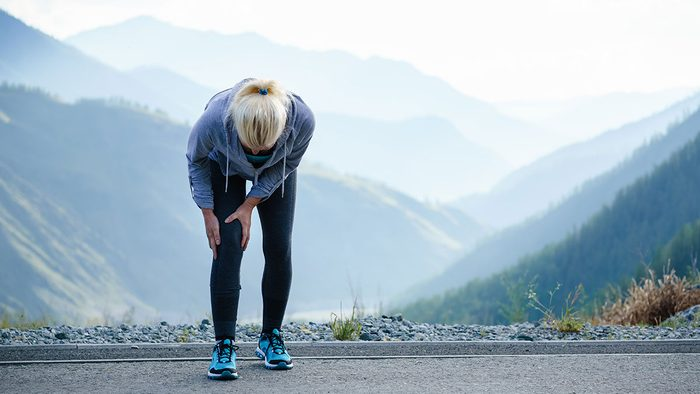 Benefits of Magnesium, woman in pain with inflammation