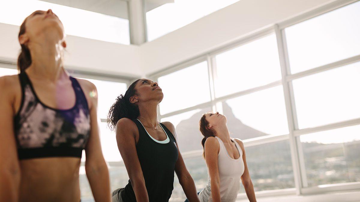 Type of Back Pain, women doing cobra pose
