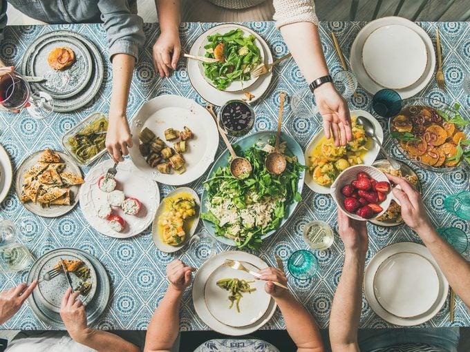 meal time mediterranean diet
