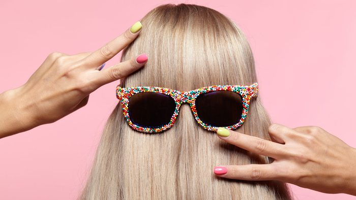 eat the right foods to eliminate damage to hair and nails