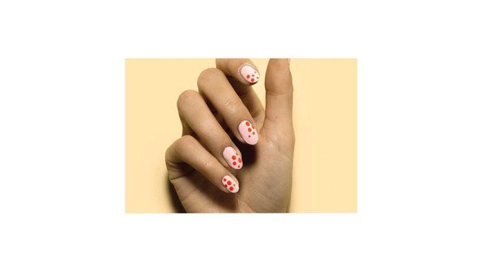 Geometric Nail Art, nails