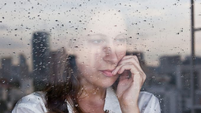 Anxiety Disorders, woman looking out the window