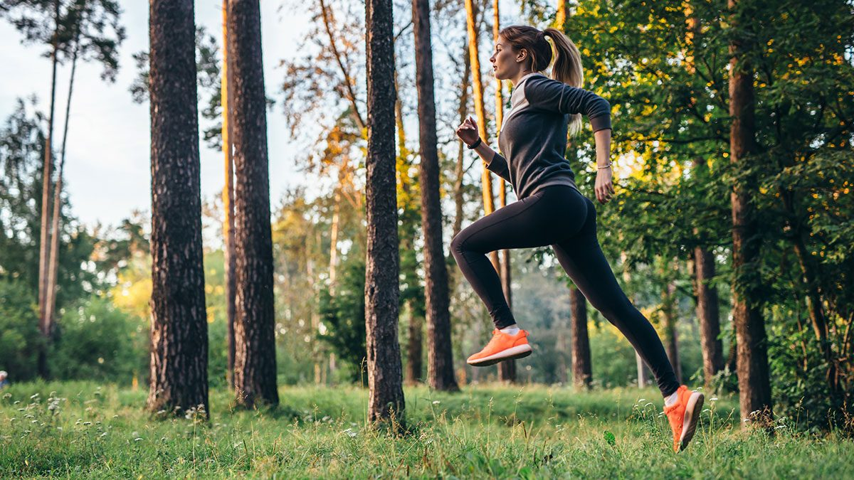 Healthy Joints, woman running