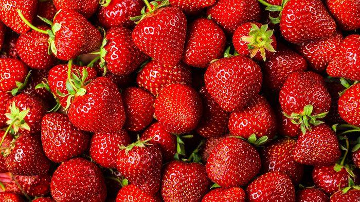 Plants, strawberries