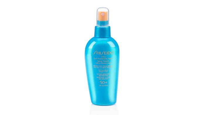 shiseido sunscreen for your scalp