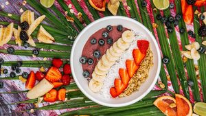 The Tropical Acai Smoothie Bowl You'll Want to Eat Every. Damn. Day.