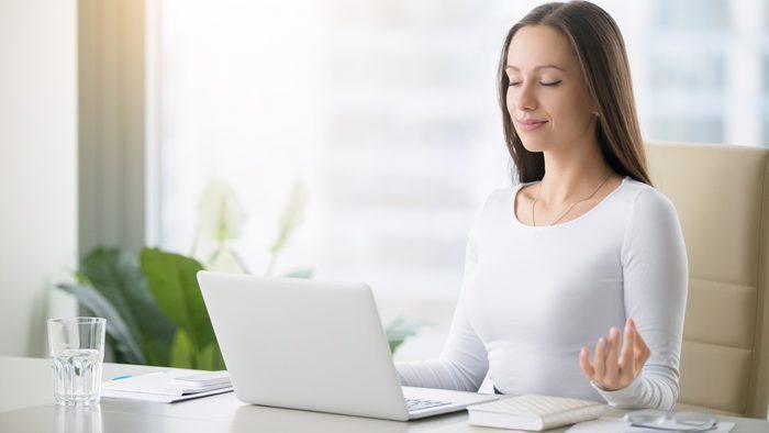 manage stress better meditation at work