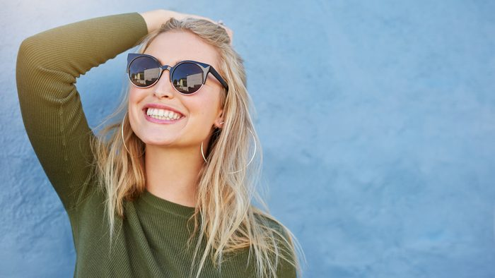 sunscreen for your scalp woman in the summer