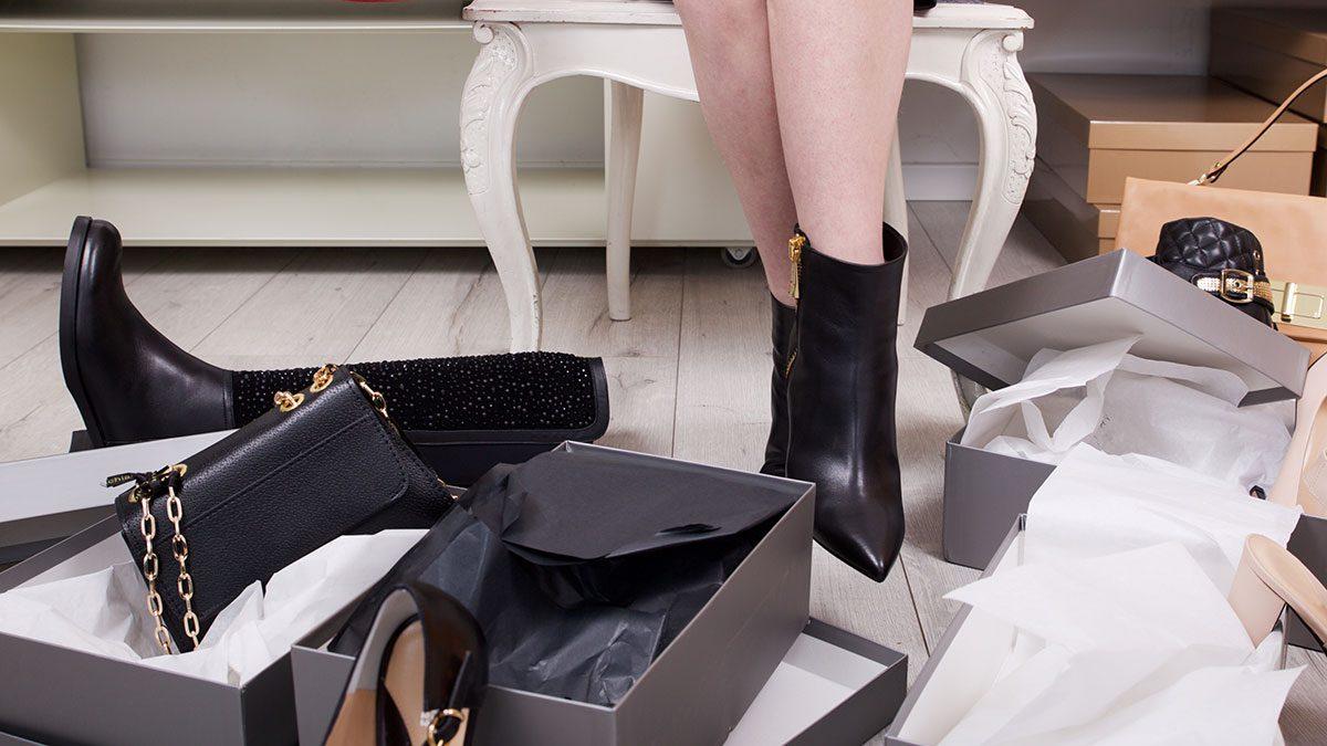 Back to School, shoe shopping