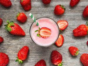 Strawberry Yogurt Smoothie