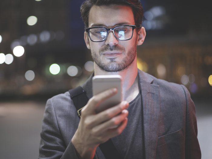 blue light filter for glasses, eye health