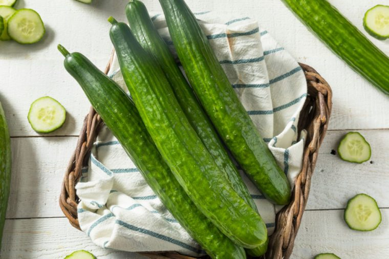 Home Remedies, cucumbers