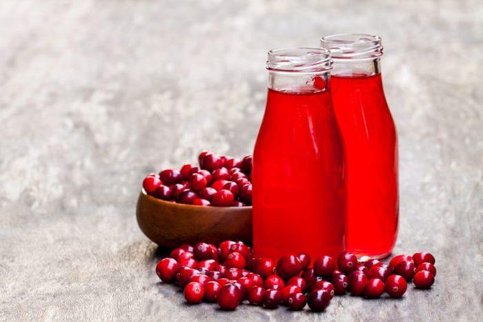 Home Remedies, cranberry juice