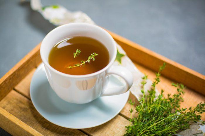 Home Remedies, thyme tea
