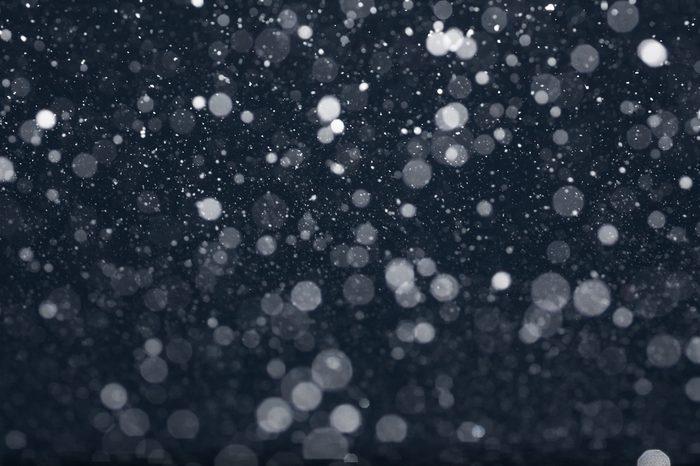 body in winter