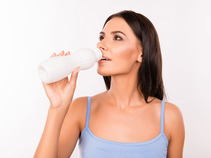 fermented milk probiotics