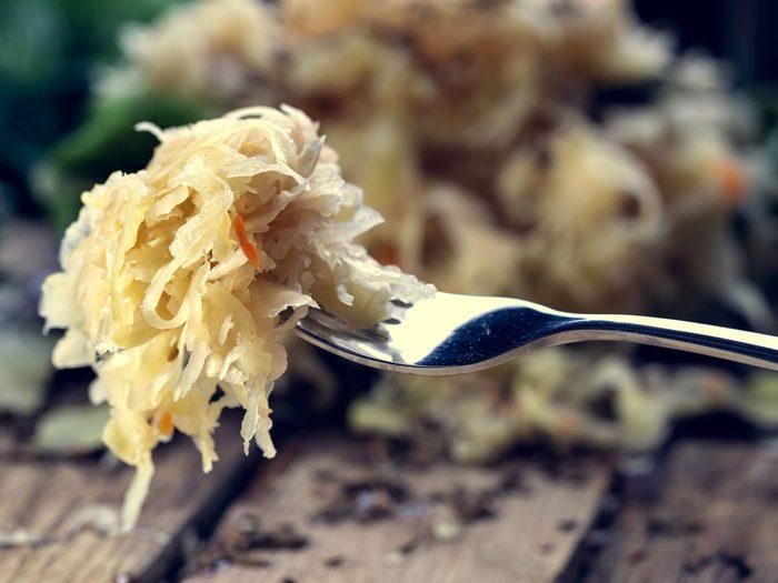 saurkrout probiotic foods