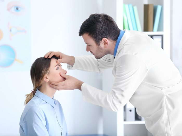 skin says about your health | eye doctor