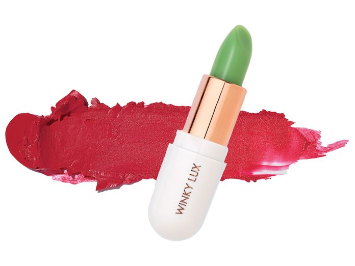 lipstick for a whiter smile