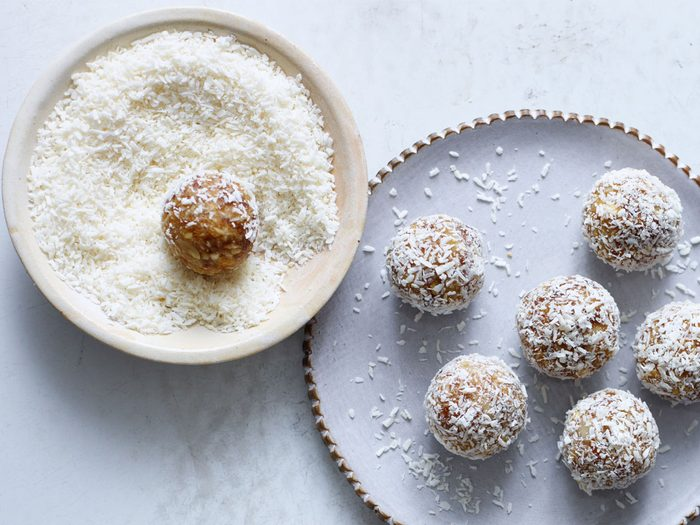 Lime and Coconut Energy Bites | citrus recipes
