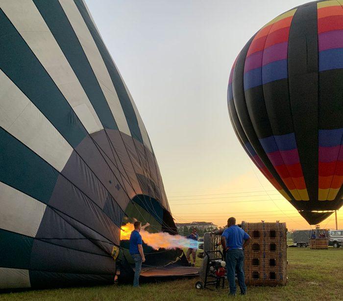 Orlando balloon ride