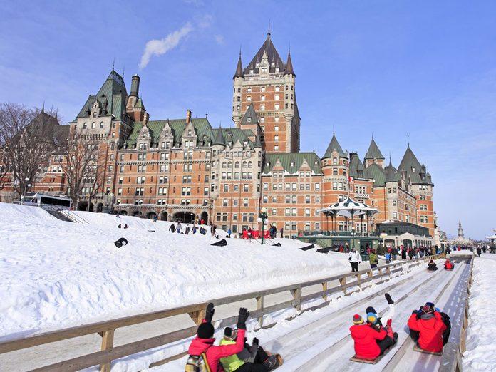 Quebec winter