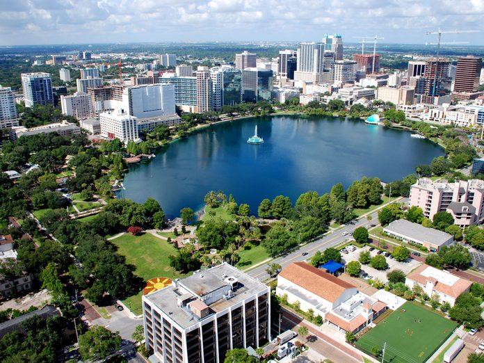 Orlando Lake Eola