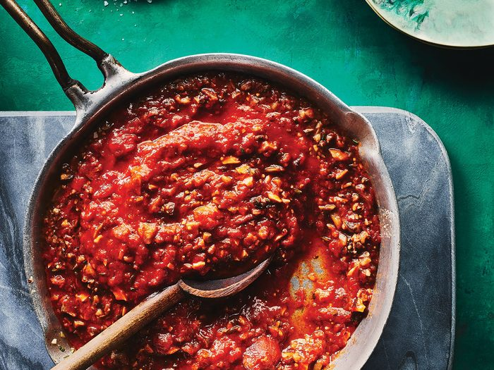 eat more veggies | Bolognese