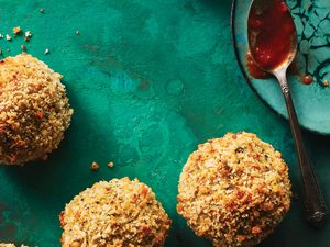 This Chickpea & Fennel Meat(less) Ball Recipe Will Outshine Your Expectations