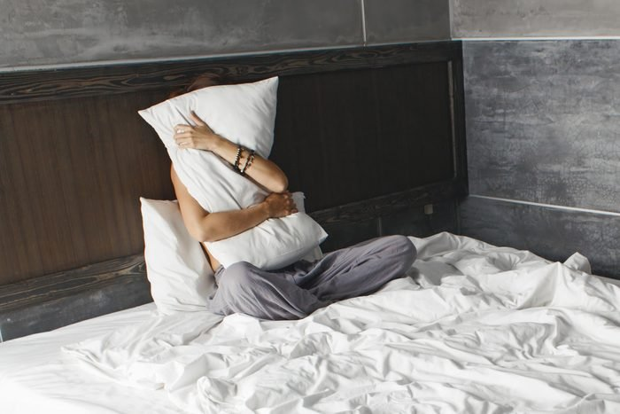 bed pillows sleep