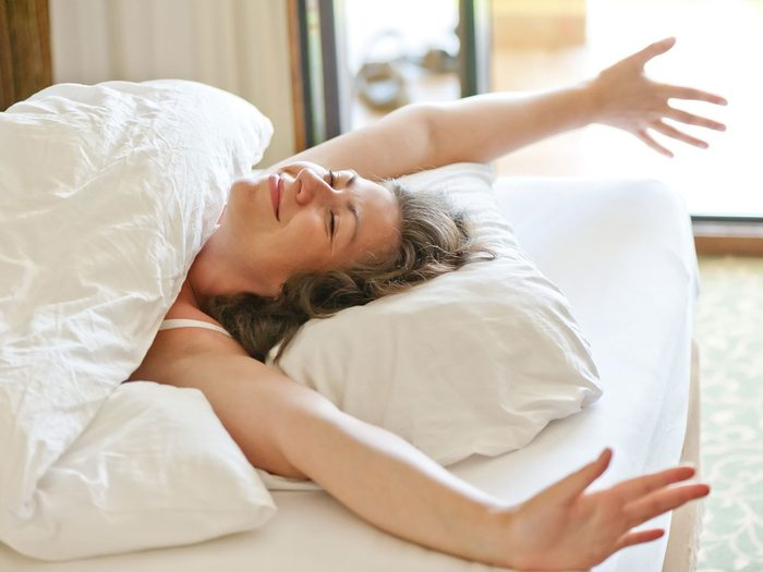 how to become a morning person stretch